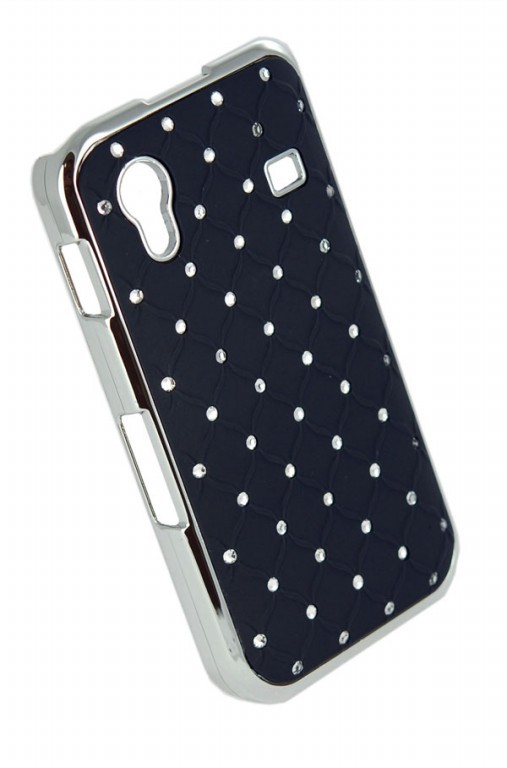 Чехол Diamond Cover Sony D2302/Xperia M2, черный