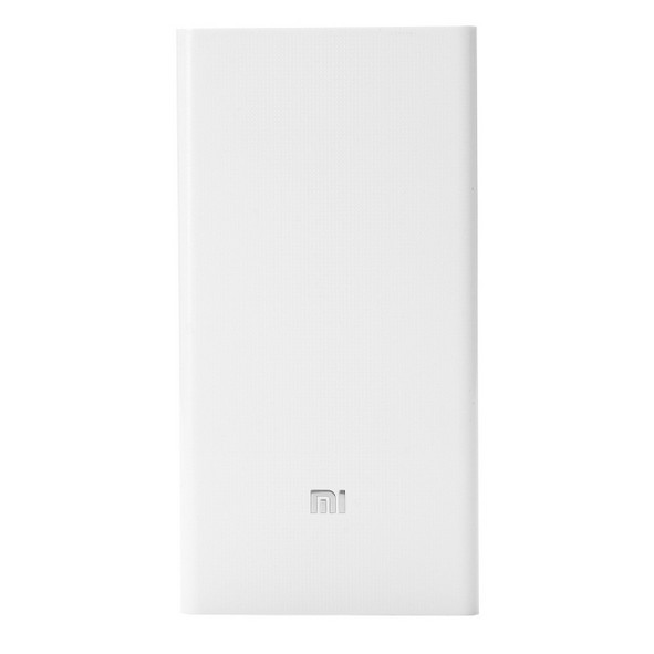 Внешний аккумулятор Xiaomi Mi Power Bank 20000 mAh Original White