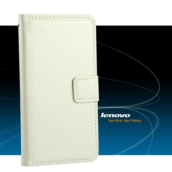 Чехол-книжка Book Cover Lenovo, белый
