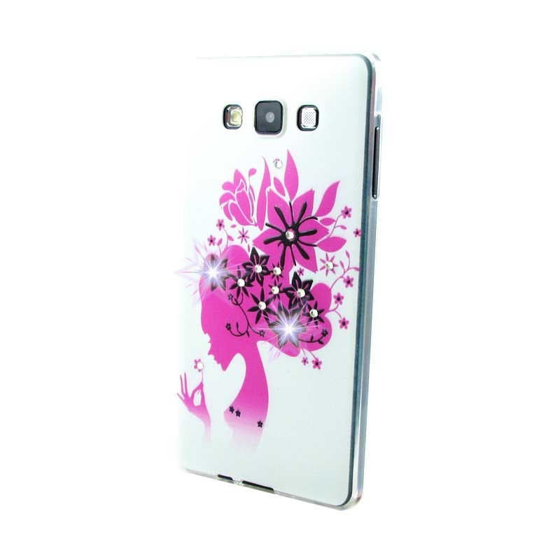 Чехол Diamond Silicone Lenovo Flower Lady