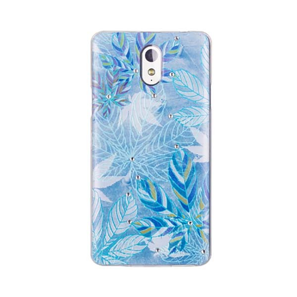 Чехол Diamond Silicone Lenovo Frozen Leaves