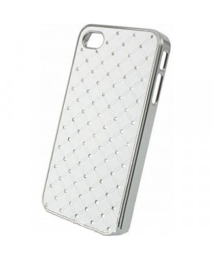 Чехол Diamond Cover iPhone 4/4S, белый