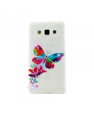Чехол Diamond Silicone LG L60, X135, X145, X147 Queen Butterfly