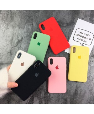 Силиконовый чехол Apple Silicone Case iPhone XS Max фото 7