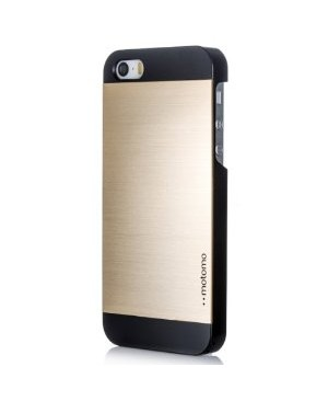 Чехол Motomo INO Metal Case iPhone 4/4S, золотой