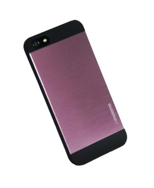 Чехол Motomo INO Metal Case iPhone 4/4S, розовый