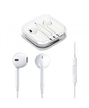 Оригинальные наушники Apple Earpods with remote and mic для iPhone 5/6, iPad, iPod (MD827ZM/A) с комплекта