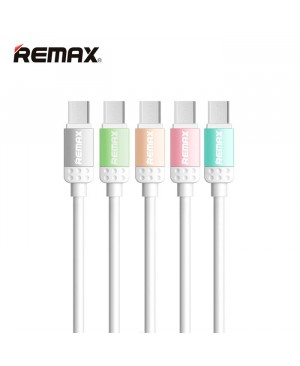 Тканевый кабель Micro USB Remax Lovely RC-010m