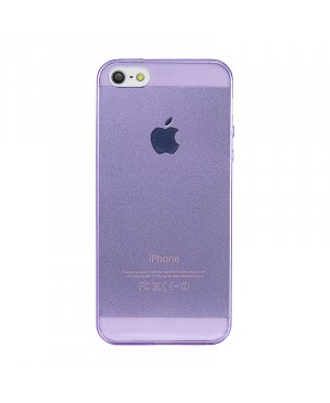 Чехол Ultra Thin Silicon Remax 0.2 mm iPhone 4/4S, фиолетовый