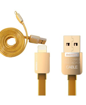 USB кабель Remax Gold Edition 1м для iPhone 5/6, зоротой