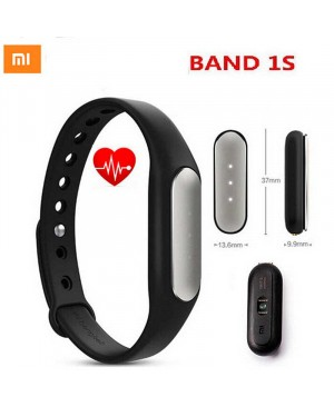 Фитнес-браслет Xiaomi Mi Band 1S Pulse Black