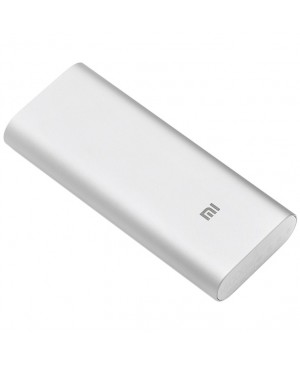 Внешний аккумулятор Xiaomi Mi Power Bank 16000 mAh Original Silver