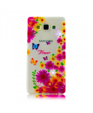 Чехол Diamond Silicone iPhone 5/5S Lovely Daisies