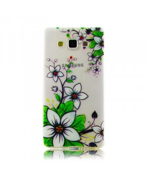Чехол Diamond Silicone iPhone 5/5S White Lilies