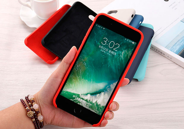 Фото Apple Silicone Case iPhone 6/6s