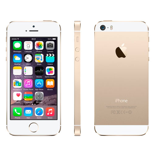 iphone 5s gold фото